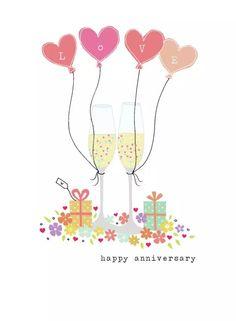 Happy Anniversary  (Art. Lizzie Preston)