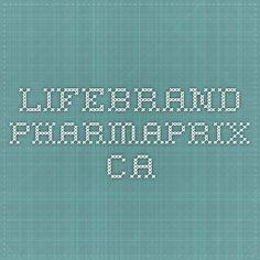 lifebrand.pharmaprix.ca Tech Companies, Periodic Table, Company Logo, Logos, Wonderland, Decor, Enjoying Life, Pageants, Periotic Table