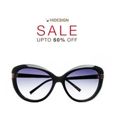 """Marilyn Monroe said, """"Give a girl the right pair of shoes & she can conquer the world"""". We say, our Marilyn high heels are now on 50% off! Cat Eyes never go out of style and they rarely go on sale! Pick up our Maldives sunglasses to glam up any outfit. The Hidesign sale brings to you a whole range of products including shoes & sunglasses! Up to 50% OFF! #Hidesign #Sale #Discounts #Offers #Sunglasses #HidesignSunglasses #Natural #UVProtected #Polarized #Fashion…"""