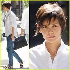 Image result for katie holmes short haircut