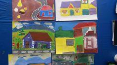 Grade 4-7 Town art