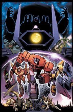 Transformers: Dark Cybertron #1 Cover