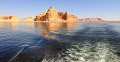 Lake Powell from a houseboat