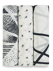 Bamboo+Swaddle+3Pk+Midnight+by+Aden+And+Anais