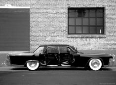 The 1960's 4 door lincoln continental with suicide doors is a true classic and a work of art!