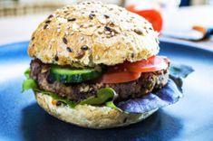 Kidneybohnen Burger - Rezept | Vegan-Fit