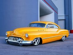 53 Buick. Decked, slammed and made into a hardtop.