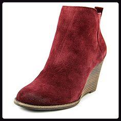 Lucky Brand Yezzah Damen US 8.5 Lila Kurzstiefel - Stiefel für frauen (*Partner-Link)