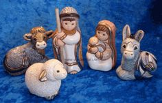 Rinconada 5-pc Nativity from Uruguay