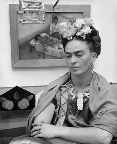 One of the most famous faces in the world Frida Kahlo (born Magdalena Carmen Frieda Kahlo y Calderón) was a Mexican painter whose self-portraits beautifully and honestly expressed the female form in a new way.