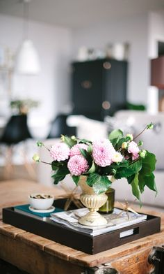coffee table styling - The Best Decorating Blogs to Bookmark Now via @domainehome