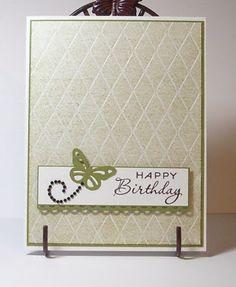 "Simple Birthday.  Papertrey ""Think Big Favorites."""