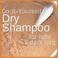 Traditional shampoos can be harsh and dry out your hair. Learn why you should use dry shampoo and get some recipes so you can easily make it yourself. Using Dry Shampoo, Light Well, Organic Beauty, Diy Hairstyles, Dark Hair, Healthy Hair, Light In The Dark, Your Hair, Eye Makeup