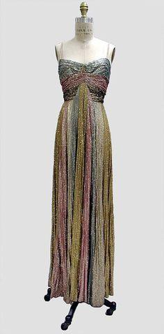 Evening dress Madeleine Vionnet -fall/winter 1937–38