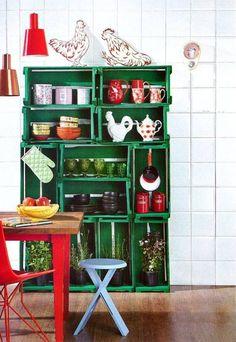 dcoracao.com - blog de decoração: Caixotes de feira