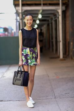 How to Style Your Sneakers in Summer | StyleCaster
