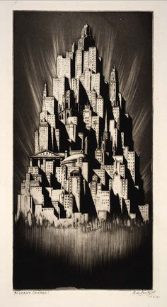 Floreat Chicago!, 1929, Chicago. Alfred de Sauty via Smithsonian Institute Archives