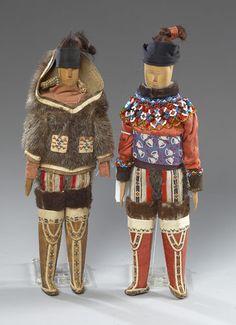 Greenland Eskimo Dolls, (2004, American Indian Art Auction / Sept 18-19)