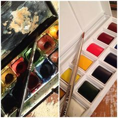 "Graciela De Luca ‏@gradeluca27 #BestFavSept2014 Rt ""@Sarahimagefit: Out with the old & in with the new #painting #art #artist Winsor & Newton """