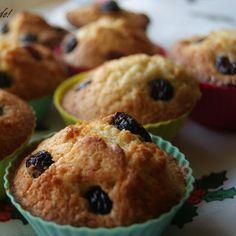 Muffins de baunilha e noz-moscada com arandos | SAPO Lifestyle