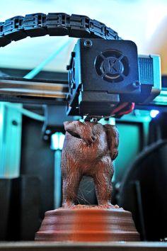 3D Printer 3DKreator Morion - 3D Printing in progress