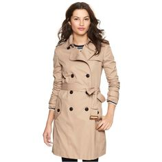 Gap Classic Trench. Reasonably priced for trenchcoats.