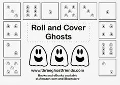 Three Ghost Friends: Roll and Cover Ghosts