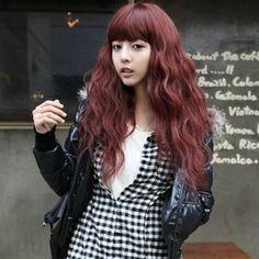 Wine red hair http://item.taobao.com/item.htm?spm=a230r.1.14.36.yyCsnI