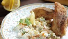 Vegetable Dishes, Potato Salad, Potatoes, Meat, Chicken, Vegetables, Ethnic Recipes, Potato, Vegetable Recipes