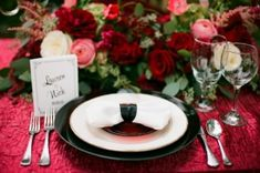 Okay, truth be told, this isn't a Christmas wedding. It's a 1940's, Old Hollywood inspired wedding , but you're about to see exactly why I've been saving it for today. It's filled with magic (thanks t...