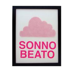 "This lovely phrase means ""beautiful sleep"" in Italian. #nurserydesignevent"