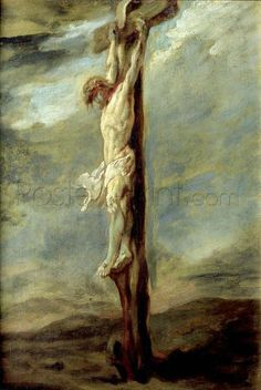 Christ On The Cross Giclee Print Poster by Peter Paul Rubens Online On Sale at Wall Art Store – Posters-Print.com