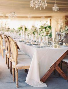 reception, linens | Hilton Head Island Wedding | Landon Jacob Photography