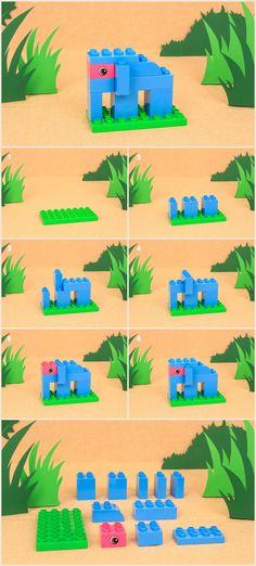 How to build an elephant - Articles - Family LEGO.com