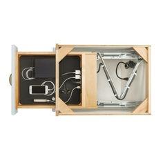 Rev-A-Shelf Charging Drawer Overview Home Room Design, Home Interior Design, Kitchen Design, Smart Furniture, Furniture Design, Face Frame Cabinets, Rev A Shelf, House Rooms, Kitchen Storage