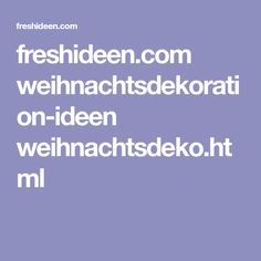 freshideen.com weihnachtsdekoration-ideen weihnachtsdeko.html