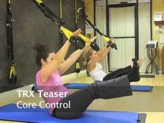 This is an actual 6:00 am TRX Flow workout which occurs twice a week in the Pilates4Fitness Movement Space. There were a couple of MIAs on this particular mo... Pilates Training, Circuit Training, Pilates Workout, Butt Workout, Trx Workouts For Women, Fit Board Workouts, Fun Workouts, Trx Video, Trx Class