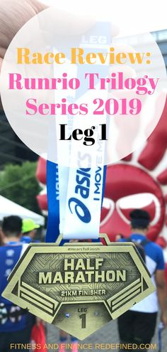 Last year, I was able to complete the Runrio Trilogy Series. I wasn't planning to finish the three running events last year because it is The Last Leg, Hydration Bottle, Running Buddies, Beginning Running, Running Race, Event Organization, How To Run Faster, My Way, I Am Awesome