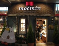 Moomin Cafe- Japan.