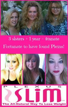Wow look what Plexus has done for these sisters. :) www.shopmyplexus.com/markandkellyharmon