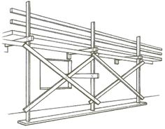 Single Scaffolding - used for brick masonry and so it is also known as brick layer's scaffolding. Wooden Scaffolding, Aluminium Scaffolding, Brick Masonry, Health And Safety, Diy Projects, Construction, Popsicle Sticks, Architecture, Life Hacks