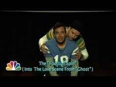▶ Evolution of End Zone Dancing (w/ Jimmy Fallon & Justin Timberlake) (Late Night with Jimmy Fallon) - YouTube