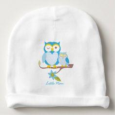 #cute #baby #beanies #babybeanies - #Little Man Owl Baby Cap Baby Beanie