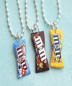 m&m's necklace - Jillicious charms and accessories - 1