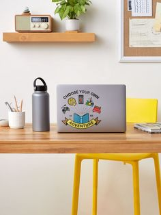 """""""Adventure 2020"""" Sticker by ninthstreet   Redbubble Planner Stickers, Buy Stickers, Unicorn Stickers, Meme Stickers, Laptop Stickers, Floating Nightstand, Floating Shelves, Graffiti, No Bad Days"""
