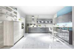 Kitchen Design Ideas by German Kitchen Center. Our expert kitchen designers will bring your dream kitchen to reality, with stunning results. Grey Cabinets, Kitchen Cabinets, European Kitchens, German Kitchen, High End Kitchens, Latest Design Trends, Kitchen Remodel, Instagram, Table