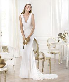 Pronovias te presenta el vestido de novia Lamero. Fashion 2014.   Pronovias