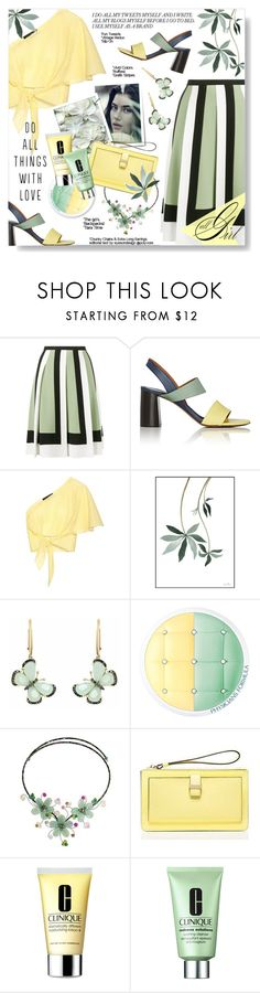 """Tintipán"" by xiandrina ❤ liked on Polyvore featuring Valentino, Chloé, Anna October, Christina Debs, Physicians Formula, NOVICA, Kate Spade and Clinique"