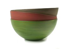 porcelain tableware colour, red, brown, green , hande made by artdentity