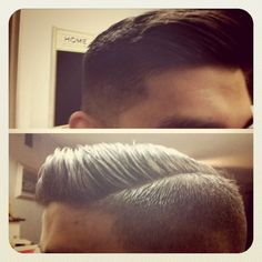 Thankslove boys with hair like this. awesome pin